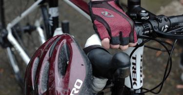 Paarsrode wielerkleding