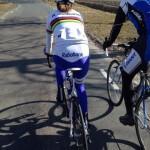 Zij wielrent blog: bij Marianne Vos in het wiel