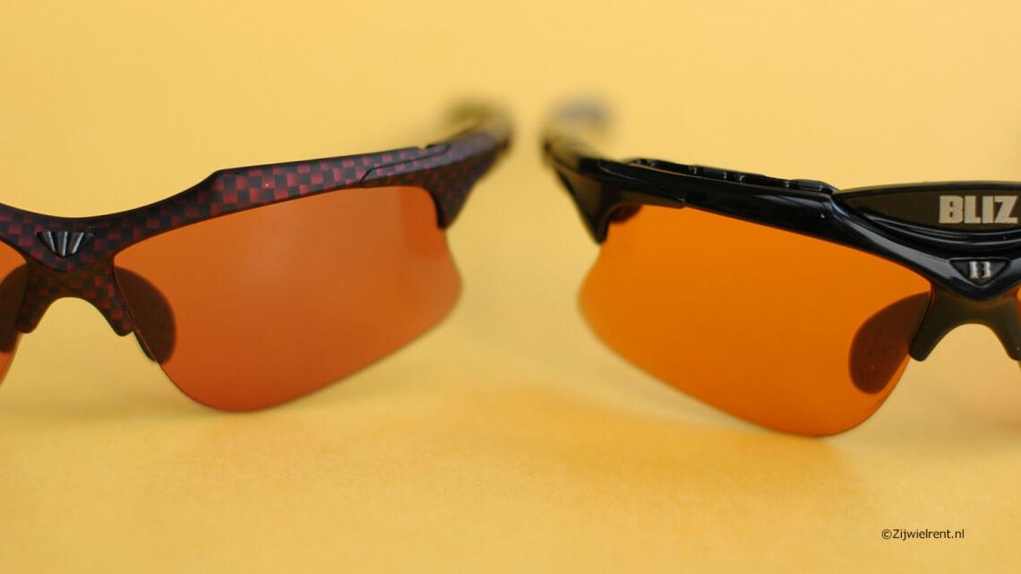 Fietsbril voor smal gezicht