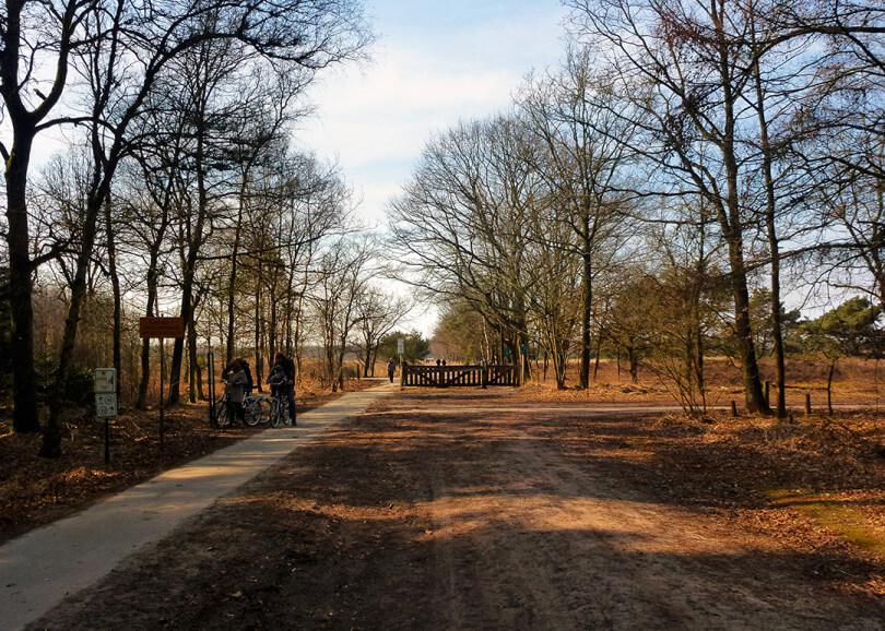 Fietsen op de Cartierheide - fietsroute