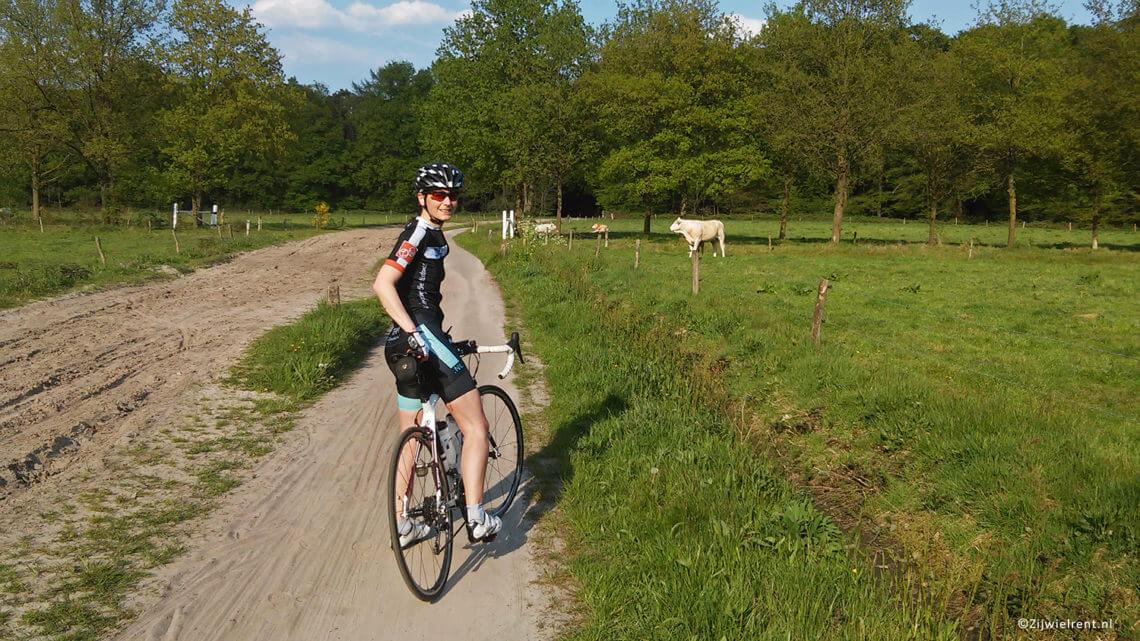 Wielrennen landgoed Wallsteijn