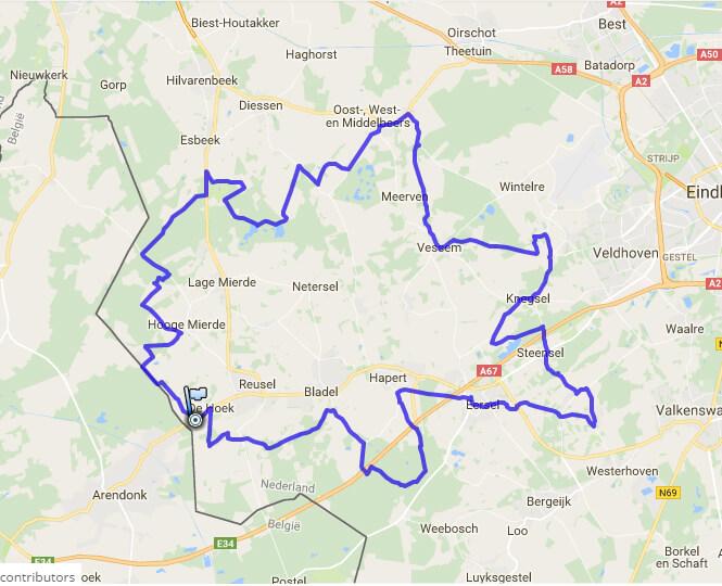 Fietsen in de Kempen: routes