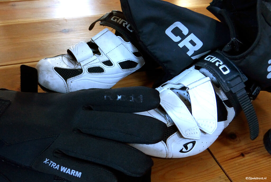Wielrennen winter handsschoenen