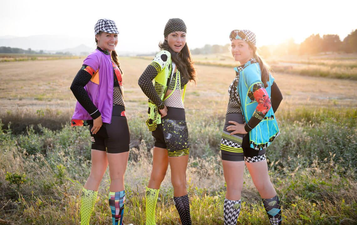 Shebeest wielerkleding voor dames
