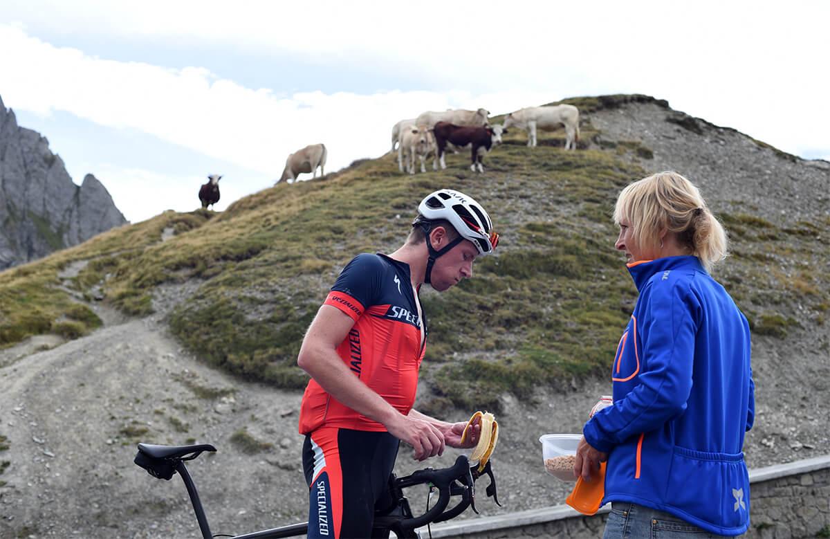 Marmotte Pyrenees, eten