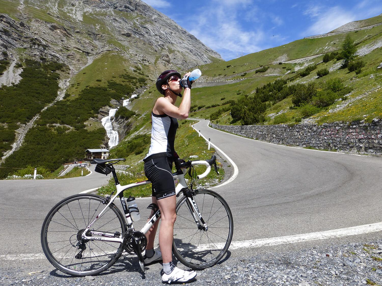 Isotone sportdrank voor wielrennen