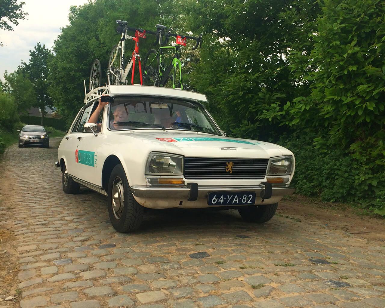 Oldtimer Peugeot in Vlaanderen