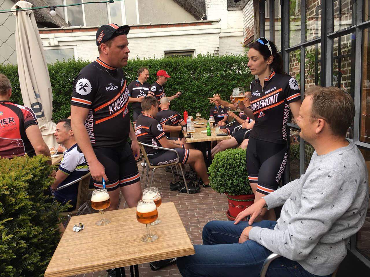 Kwaremont bier voor wielrenners