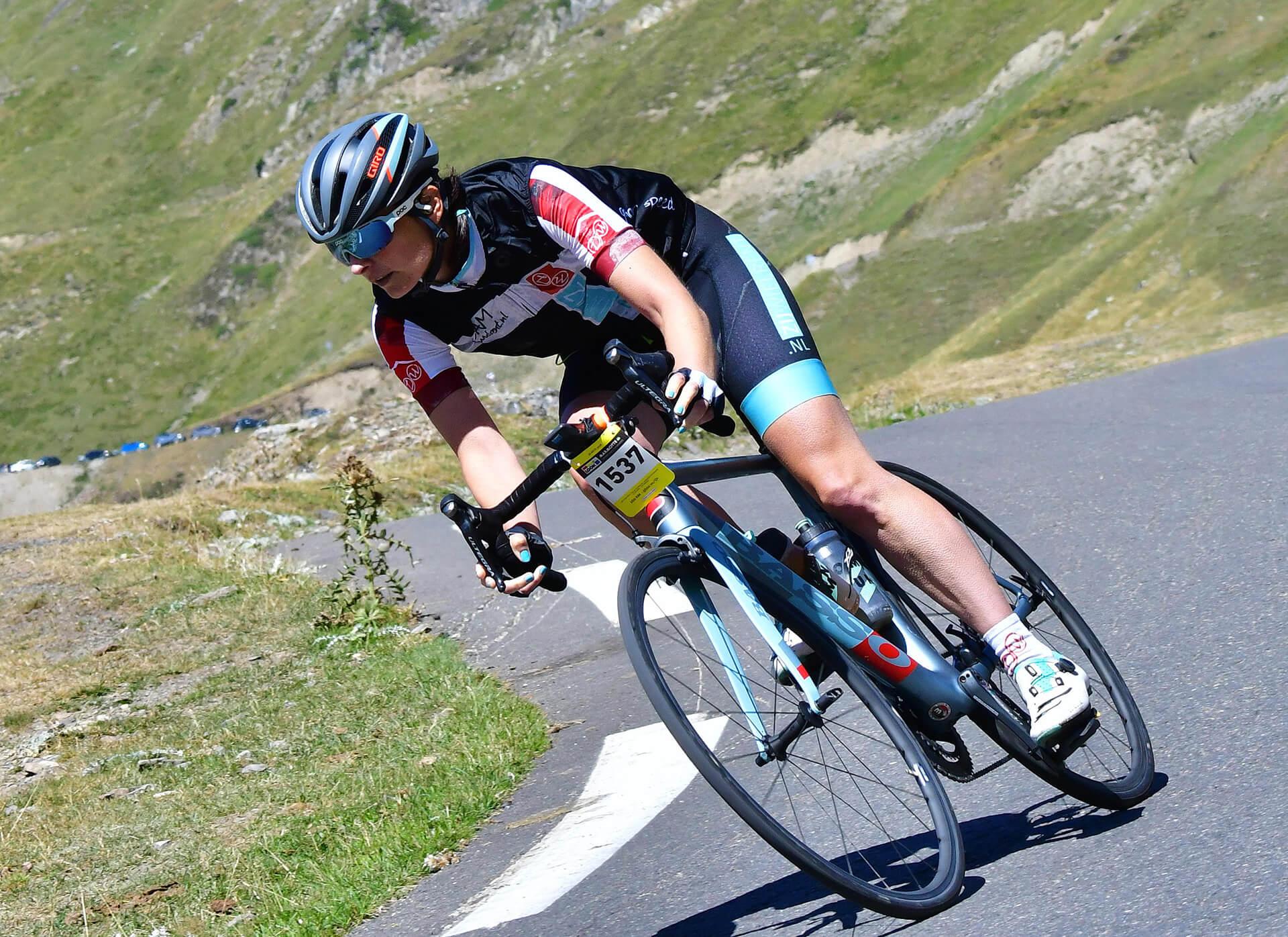 Dalen op Col du Tourmalet