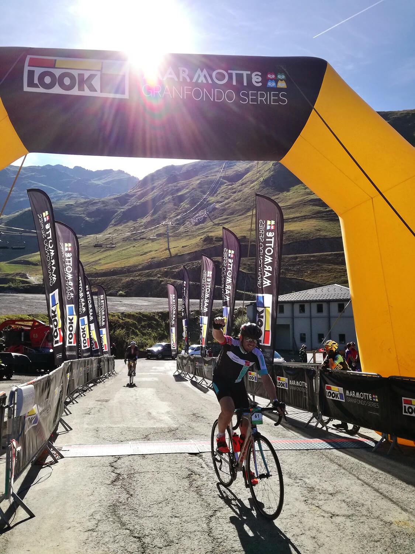 Finish Marmotte 2018 Pyreneeën
