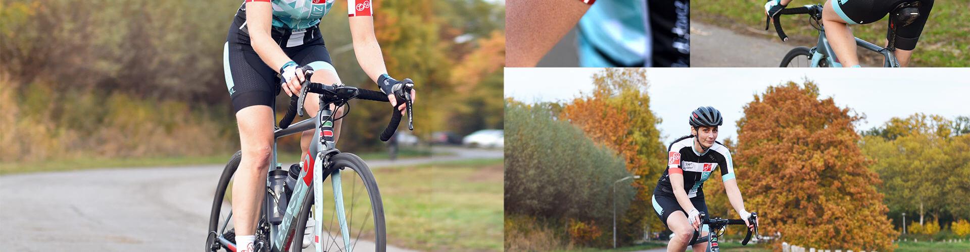 wielerkleding voor vrouwen Zijwielrent