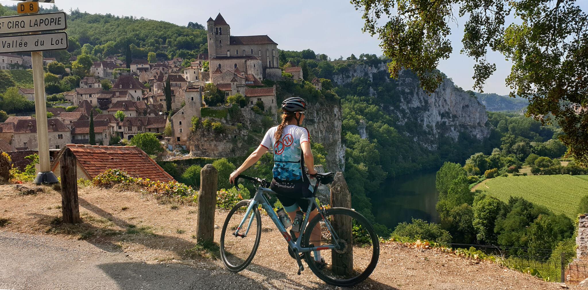 Wielrennen in Dordogne en Lot
