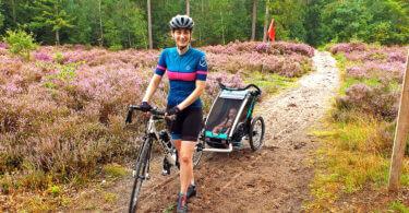 Baby fietskar racefiets